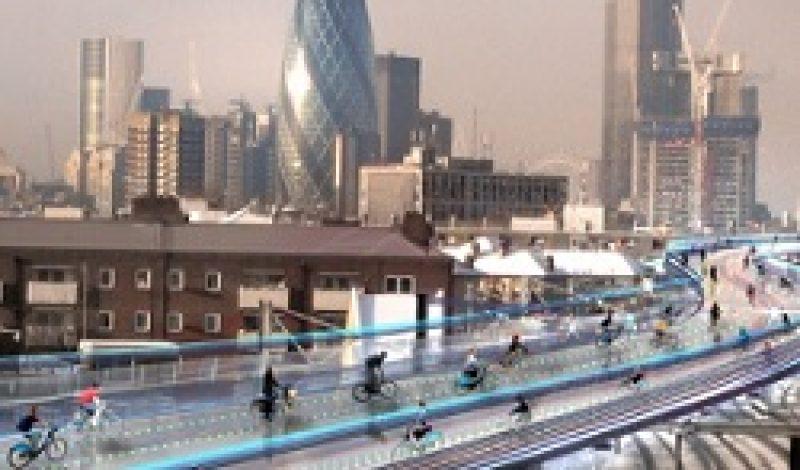 Future London Cyclists Take to the Sky