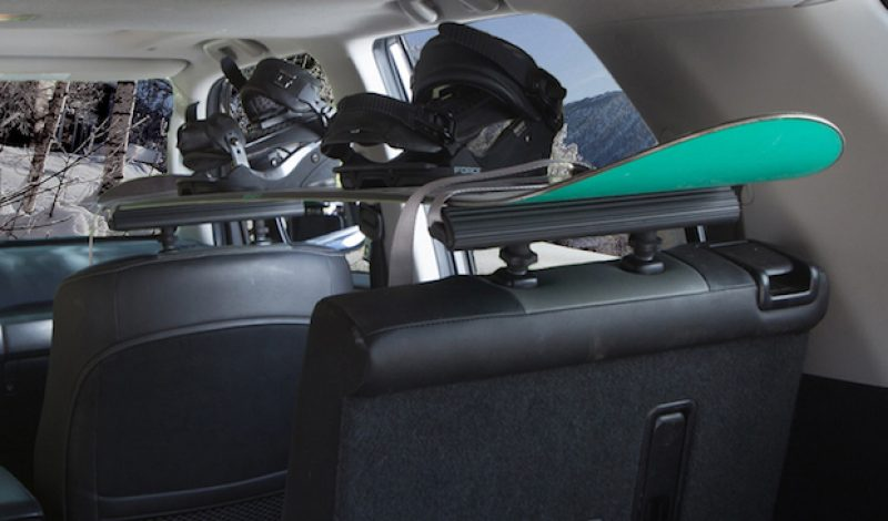 The SeatRack is an Interior Cargo Hauler for Your Vehicle
