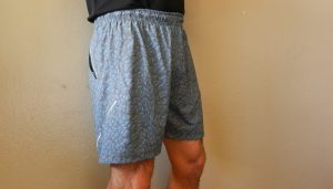 side view of tasc performance velocity shorts