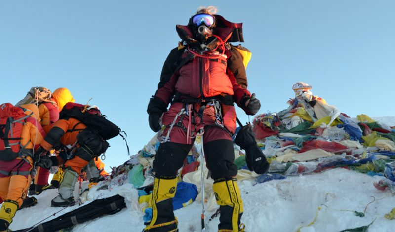 First American Woman Summits K2