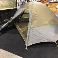 An Ultralightweight tent goes luxe