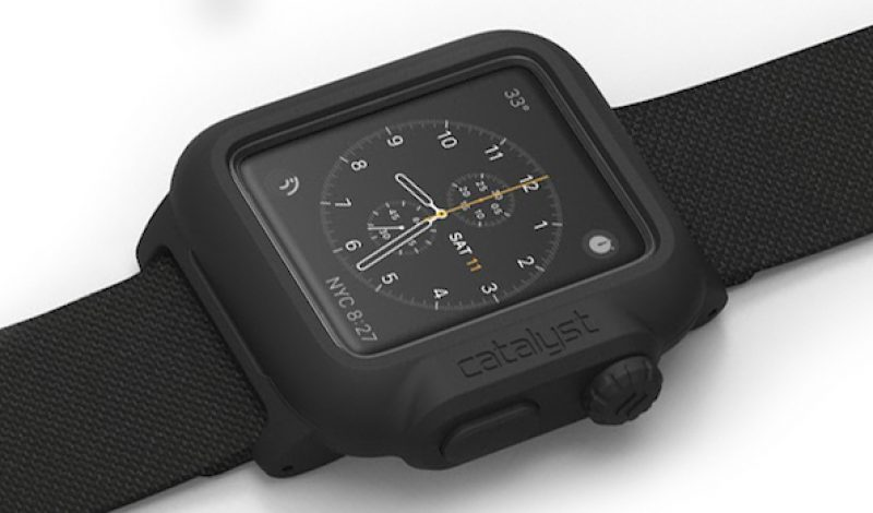 Make Your Apple Watch Completely Waterproof with this Case