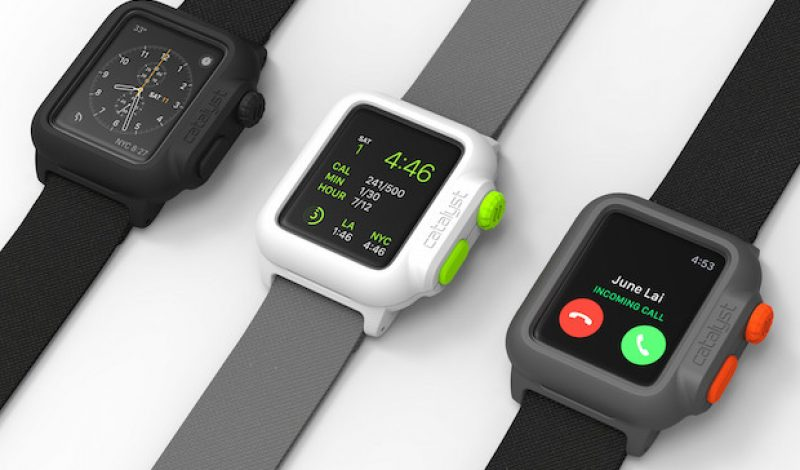 Catalyst to Launch First Waterproof Case for Apple Watch