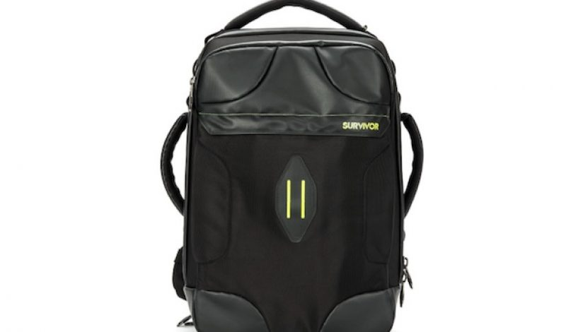 The Survivor Bag Will Keep Your Precious Technology Safe While on the Road