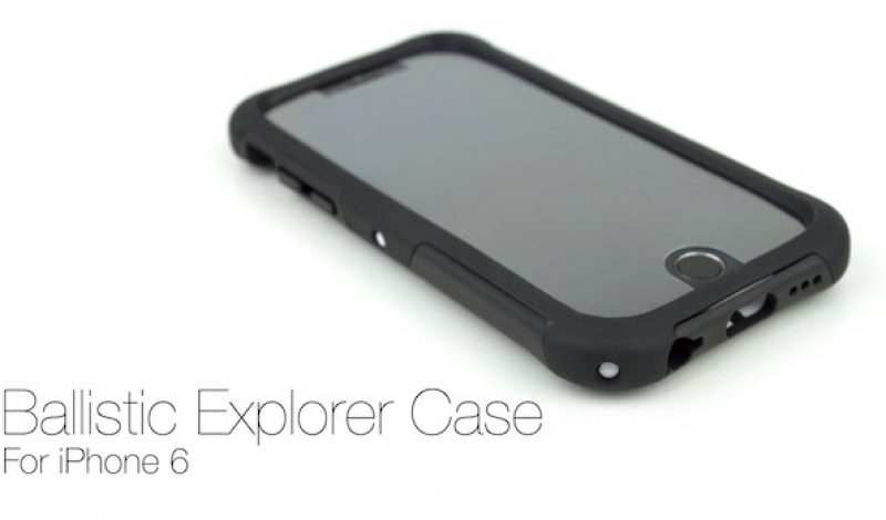 The Ballistic Explorer Offers Slim, Rugged Protection for iPhone