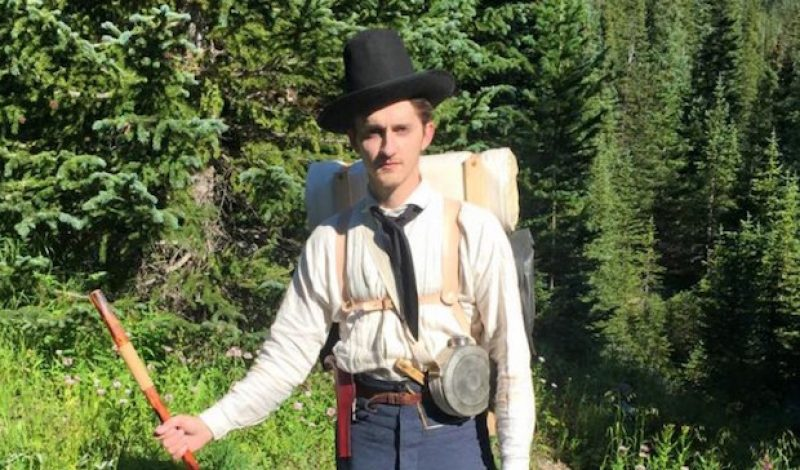 Hiking 500 Miles on the Colorado Trail in Vintage Gear