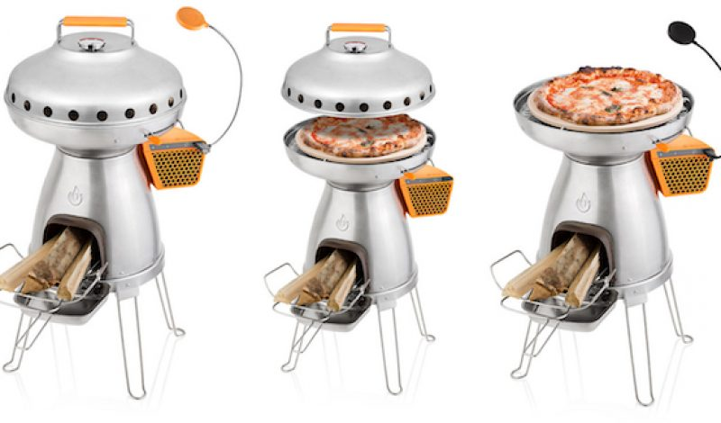 BioLite's PizzaDome Takes Camp Cooking To New Levels