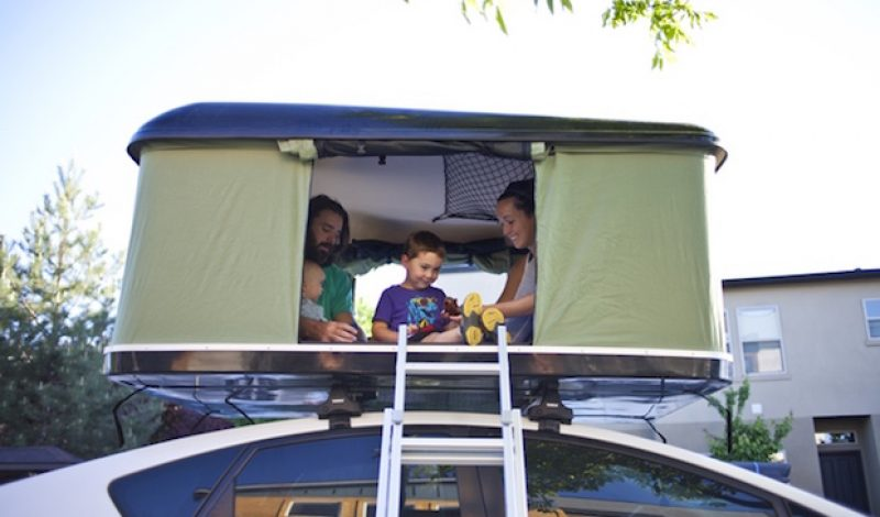 The BlackFin Camper Box is a Roof-Top Tent for Nearly Any Vehicle