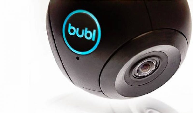 Bubl Cam is an affordable, high quality 360º Camera