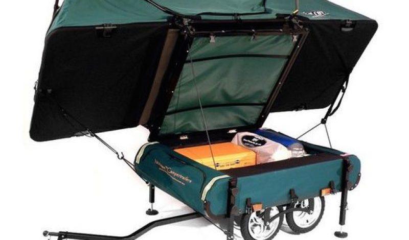 Gear Spotter: BushTrekka Bicycle Camping Trailer