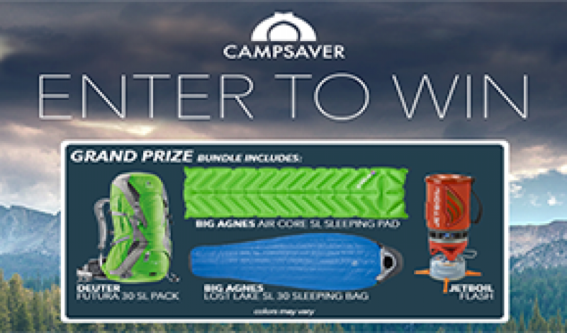 CampSaver Giveaway