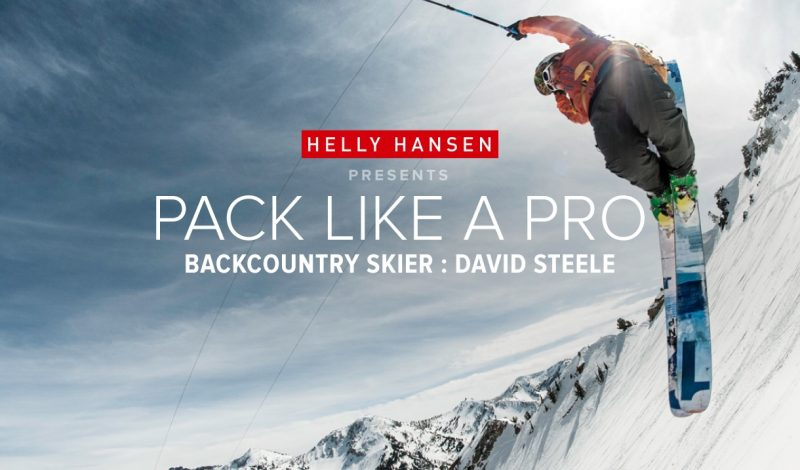 Pack Like a Pro: Backcountry Skier David Steele Carves It Up