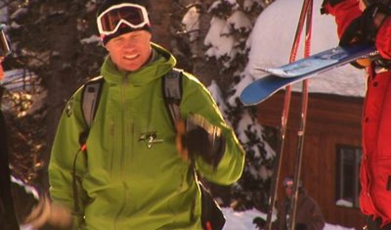New Ski Line from Big Mountain Guide Dean Cummings