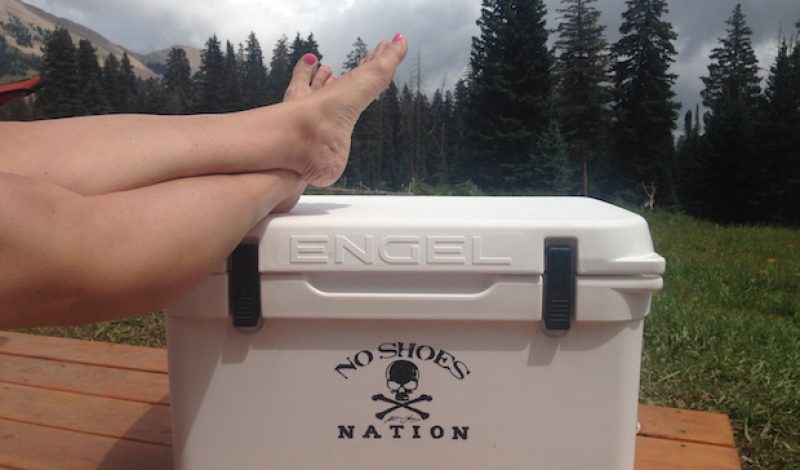 Products With a Purpose: Engel No Shoes Nation Coolers