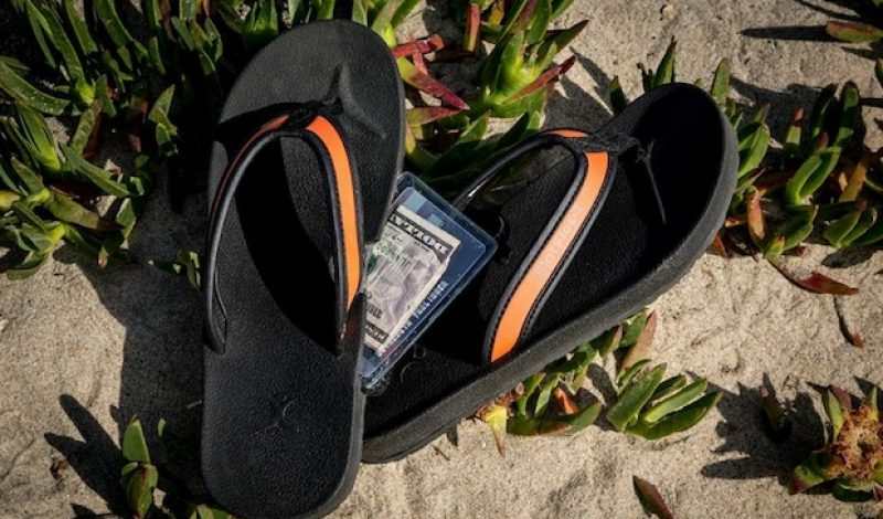 These Sandals Double as a Handy Travel Wallet