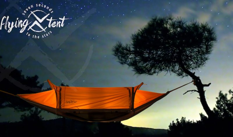 The Flying Tent is a Tent, Bivy, Hammock and Poncho All  in One