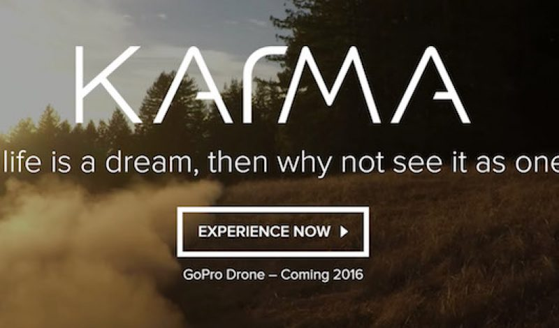 GoPro is Giving Away 100 Models of its New Karma Drone