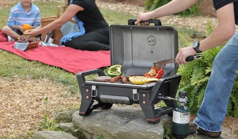 Raise Your Camp-Cooking Game with this New Portable Grill