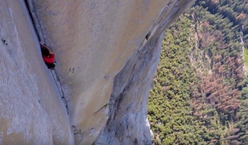 Video: Alex Honnold Climbing El Cap without Ropes