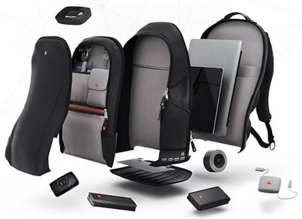 High Tech Backpack Features GPS Tracking, Bluetooth Speaker, and Much More