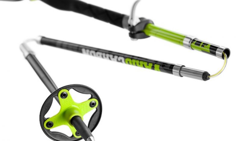 Leki Introduces First Foldable Anti-Shock Trekking Poles