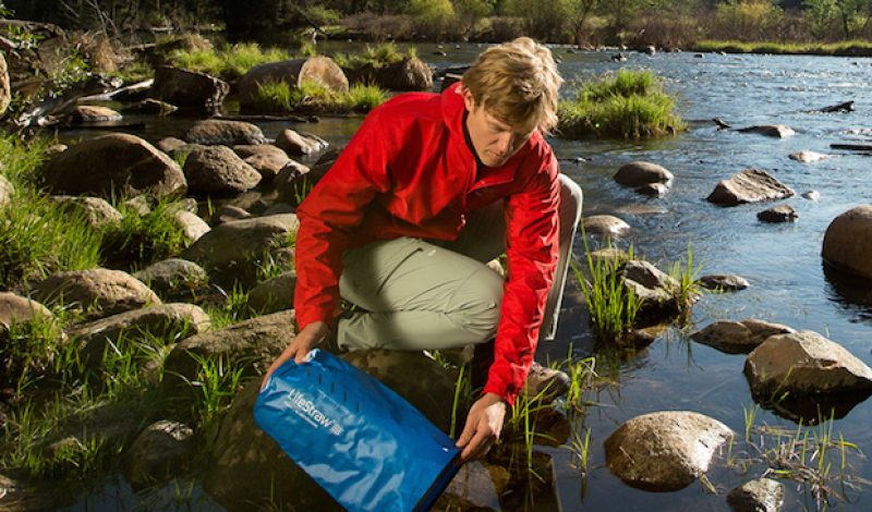 LifeStraw Offers Two New Ways to Purify Your Drinking Water