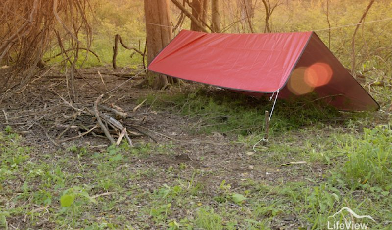 How To Create A Makeshift Shelter From A Survival Blanket