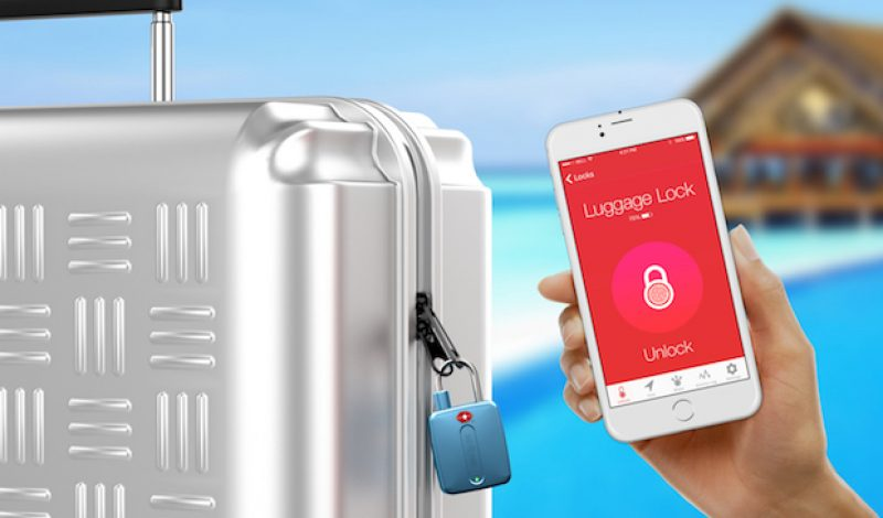 Bluetooth Travel Lock Keeps Valuables Safe and is TSA Approved