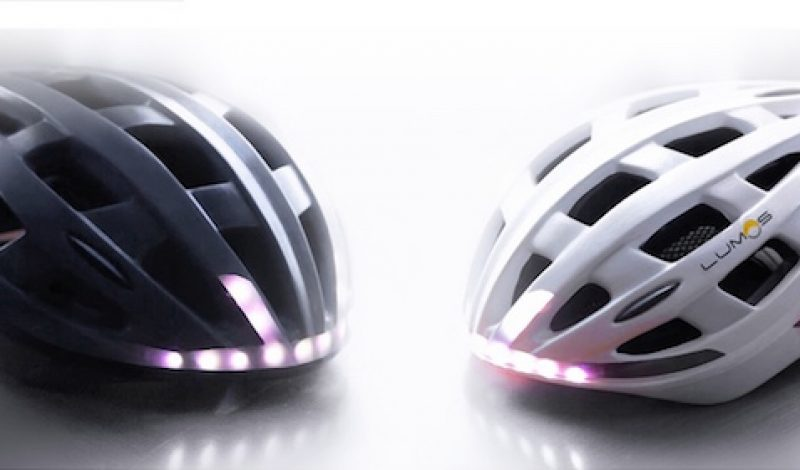 High-Tech Bike Helmet Includes Turn Signals, Brake Lights