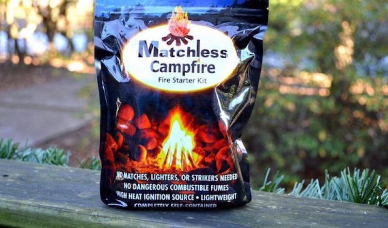 Video Review: Matchless Campfire Fire Starter Kit