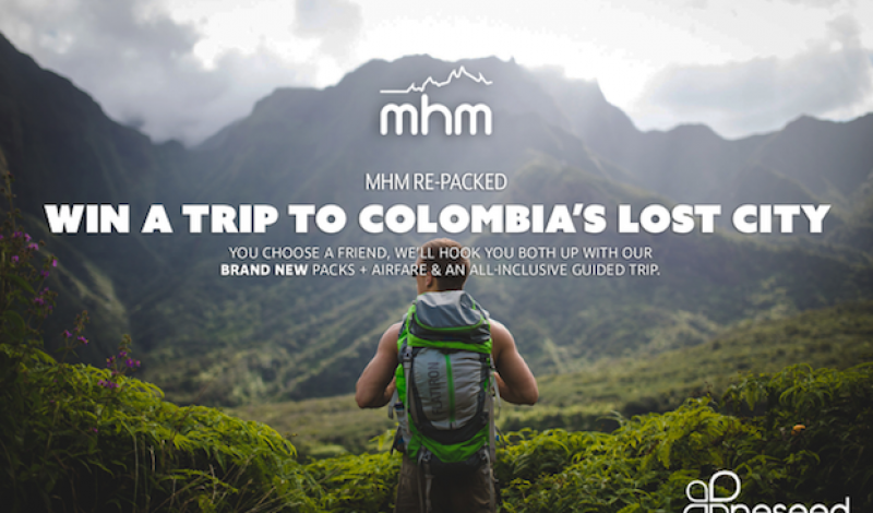 Have Pack, Will Travel – Win New Gear and a Free Trip to Colombia