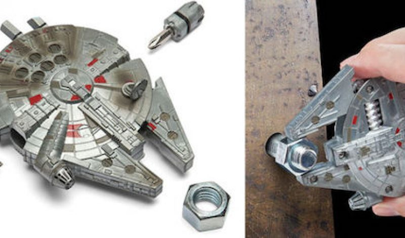 A Millennium Falcon Shaped Multitool is Finally a Thing