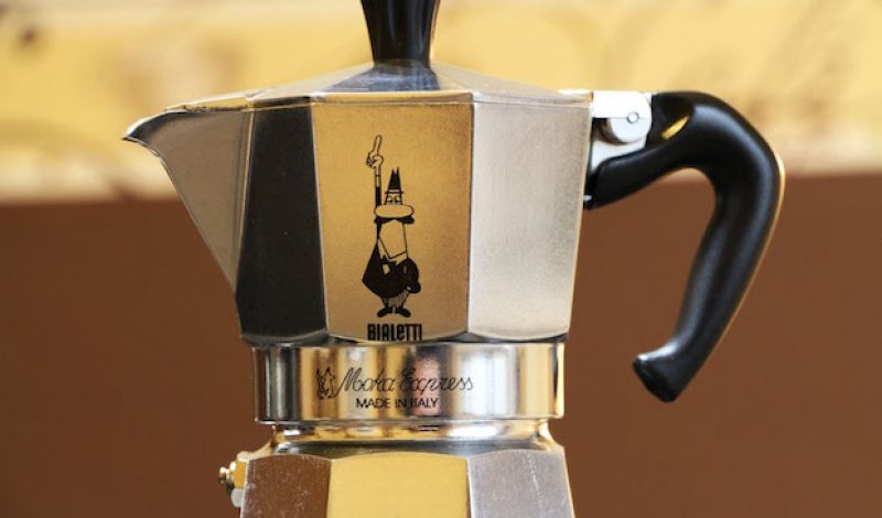 Get a Perfect Cup of Camp Coffee with the Moka Express