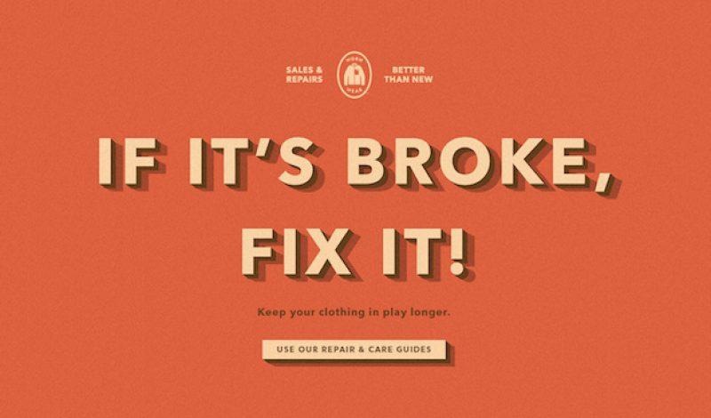 Patagonia: If it's Broke, Fix It!