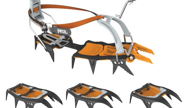 Petzl Uses Interchangeable Parts to Reinvent the Crampon
