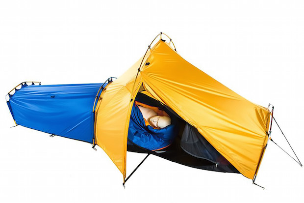 New All-in-One Sleep System Combines Tent, Sleeping Bag, and Sleeping Pad