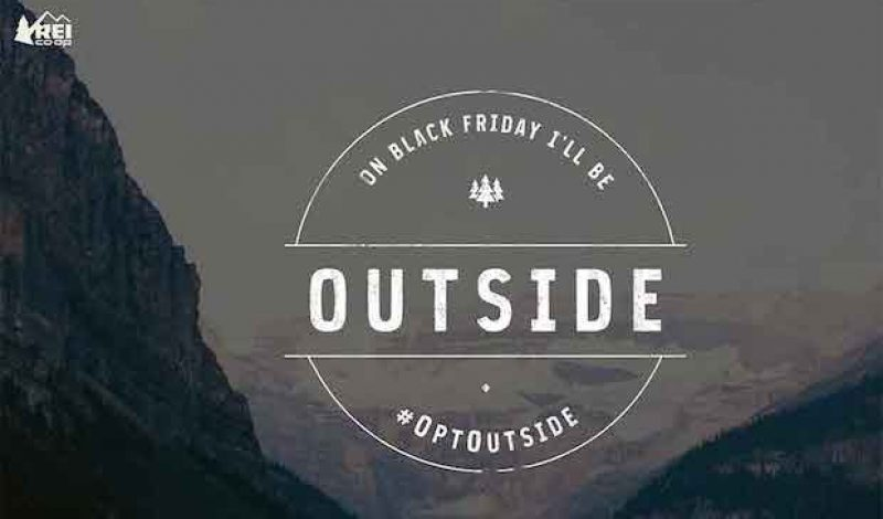 REI Will #OptOutside Again This Black Friday