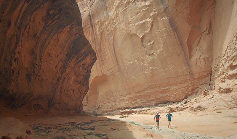 Video: Salomon Ultrarunners Take to the Canyons of Nowhere, Utah