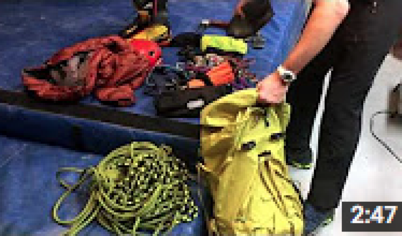 Leatherman Real Life Stories From the Field: Climbing Tester Mike Schneiter