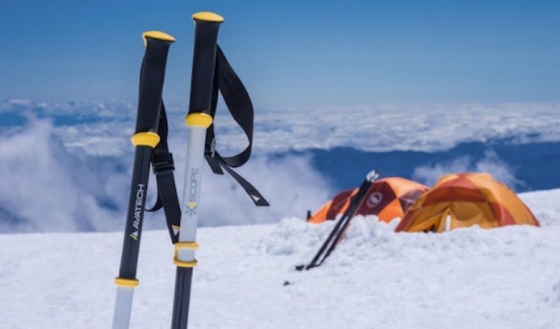 A New High-Tech Ski Pole Wants to Help Keep You Safe in the Backcountry