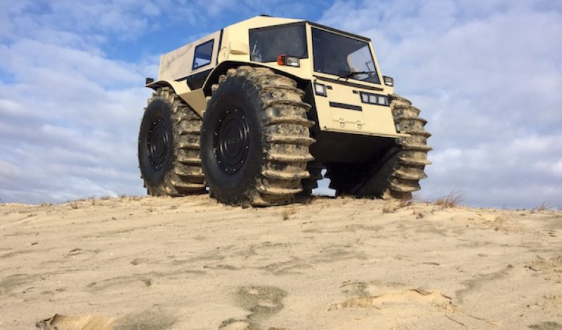 The 'Sherp' is a Custom Built Russian SUV That Can Go Anywhere