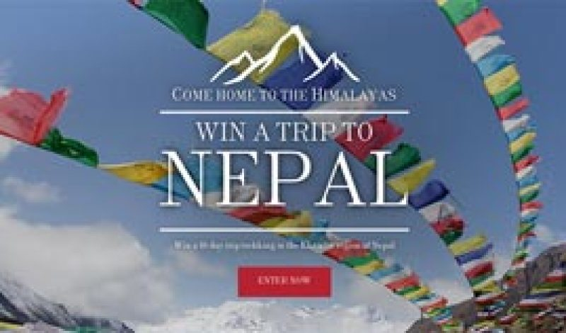 Sherpa Adventure Gear Offers Chance to Win a Once-in-a-Lifetime Trip to Nepal
