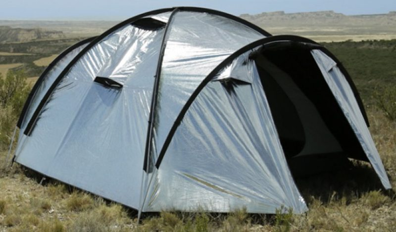 This Tent is Designed to Block Light and Heat