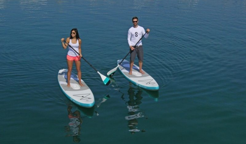 Check Out This Self-Inflating, Jet-Propelled, Smart Paddleboard