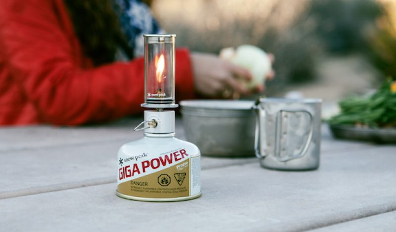 Light Up the Campsite the Old Fashioned Way with the Snowpeak Mini Flame