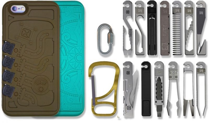 You Won't Want to Leave Home Without the Stowaway Line of Tools and Carriers
