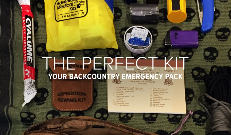The Perfect Kit for Emergencies