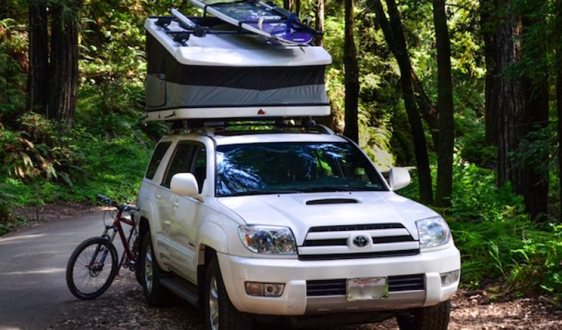 Tepui Introduces White Lightning Hard Shell Rooftop Tent