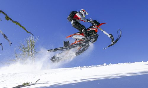 Timbersled is an Awesome Cross Between a Dirt Bike and a Snowmobile