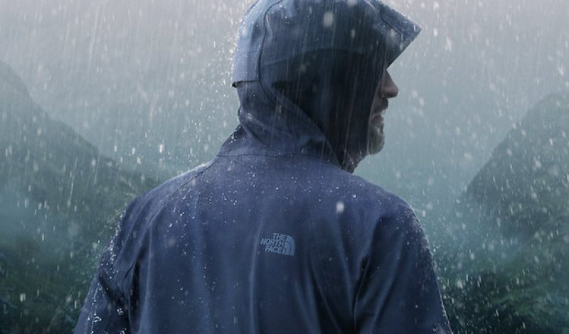North Face Reveals Its First Ever Fully-Waterproof Soft Rain Shell